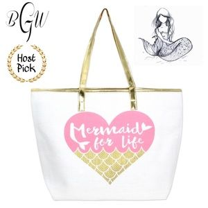 Handbags - 5🌟🎉HP🎉Mermaid Beach Tote